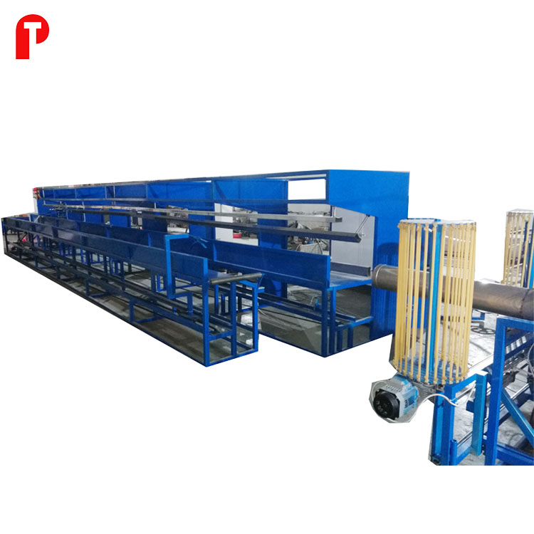Insulated aluminum flexible duct machine