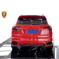 Perfect fitmen full set gts style body kit for porshe Cayenne in pp