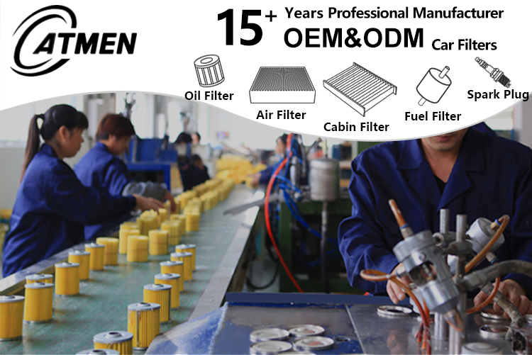 Factory Manufacturer Korean Filtros De Aceite Para Genuine Cartridge Diesel Engine Metal Auto Oil Filters In China For Cars