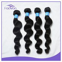 wholesale loose wave Brazilian silky hair weave extensions