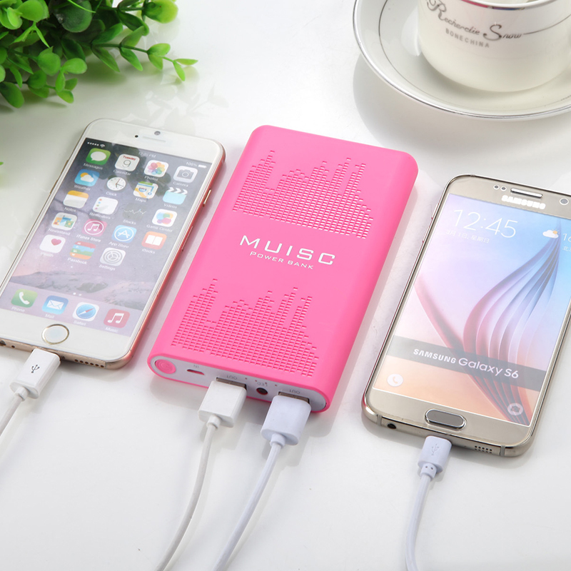 Stand mobile charger power bank slim powerbank 10000mah with led display for s5 samsung