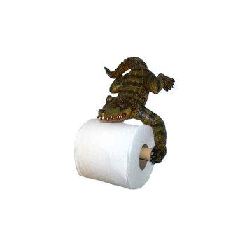 Funny Alligator Resin Decorative Toilet Paper Holder Buy Funny
