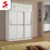 Factory Price Bedroom Wall Wardrobe DesignMulti Use Portable Bedroom Sliding 3 Door Wardrobe Cabinet