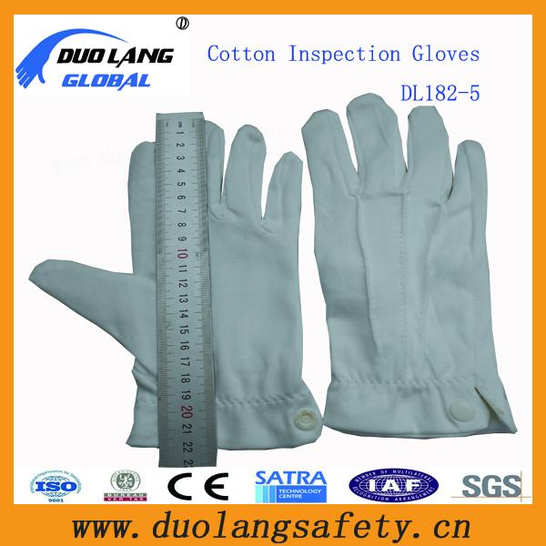 White Cotton Dress Gloves Ceremony White Gloves White Cotton Dress