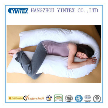 how to use av shaped pregnancy pillow