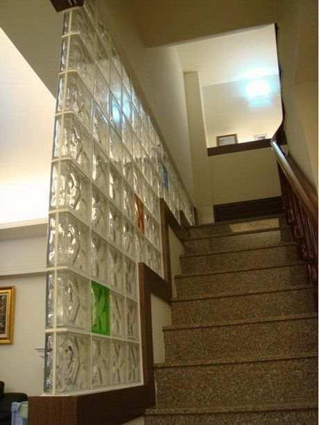 Arte blocco di vetro decorativo, mattoni di vetro prezzo mattone ...
