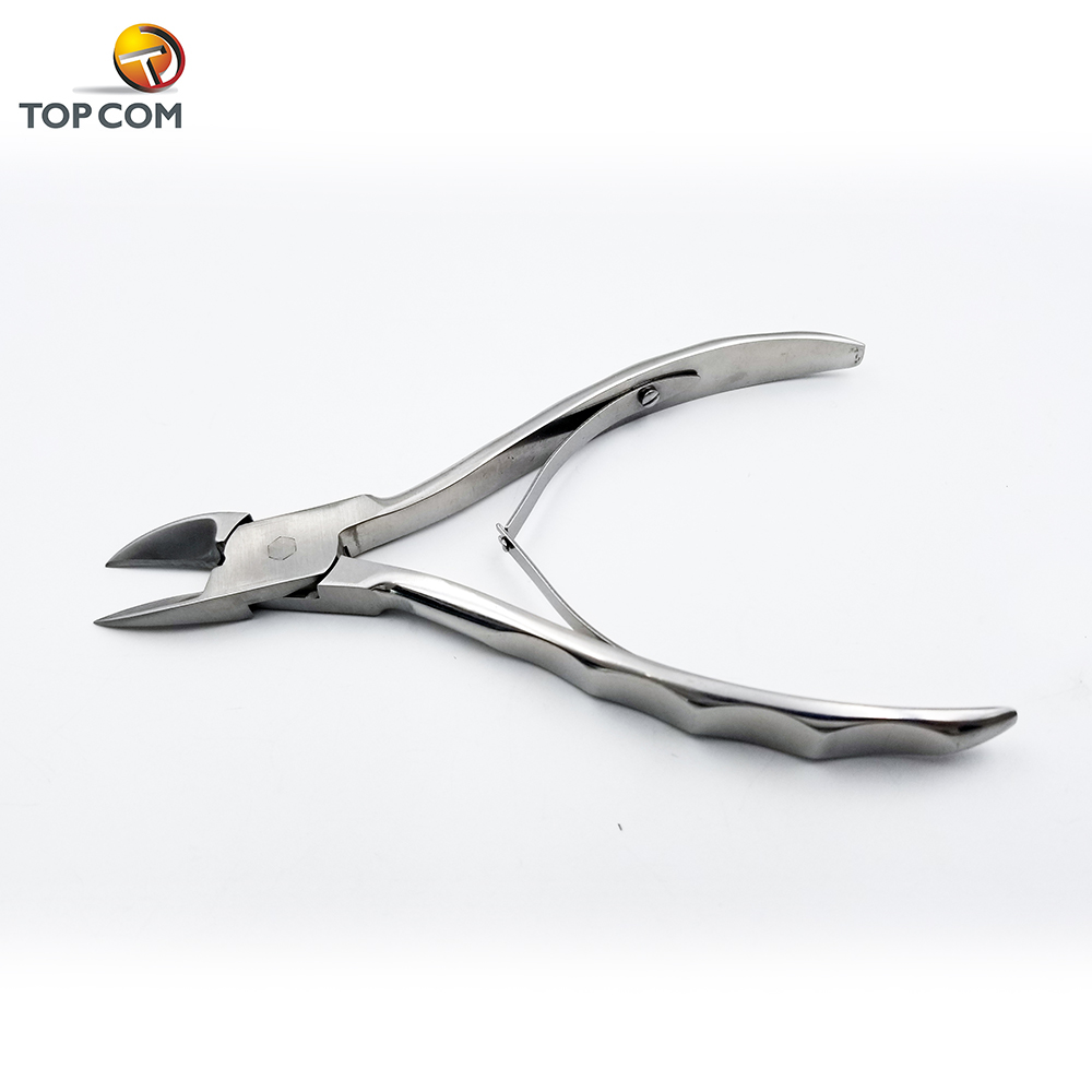 professional handle best quality stainless steel nail nippers