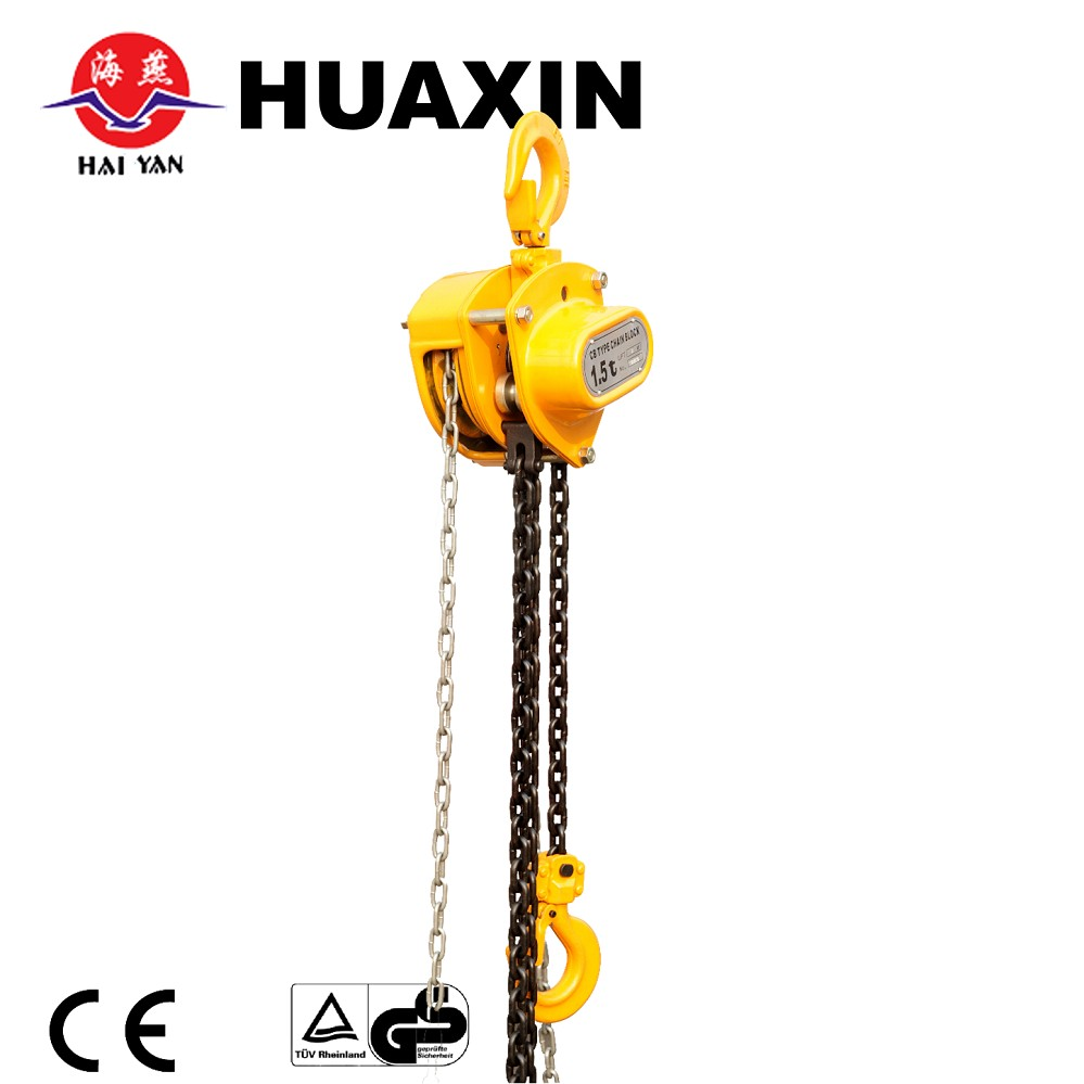 3 ton chain pulley block factory export