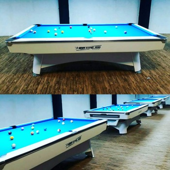 Cutomized Design Logo 9 Foot Pool Tables With OEM Service