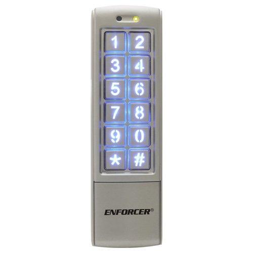 Seco-Larm Enforcer Access Control Keypad, Mullion-Style (SK-2323-SDQ)
