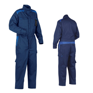 Construction Worker Uniform Cotton Blue Wear Rough Workwear