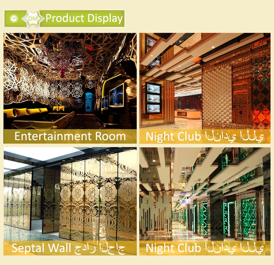 304 stainless steel inscert screen for hotel decoration - buy