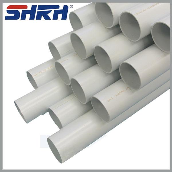 Iso4422 tuberia pvc precios est ndar tubo de pvc con - Tubos pvc blanco ...