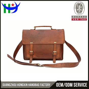Handmade texture leather messenger bags for men college fashion mens  genuine leather messenger bags vintage laptop 62c0b25acf911