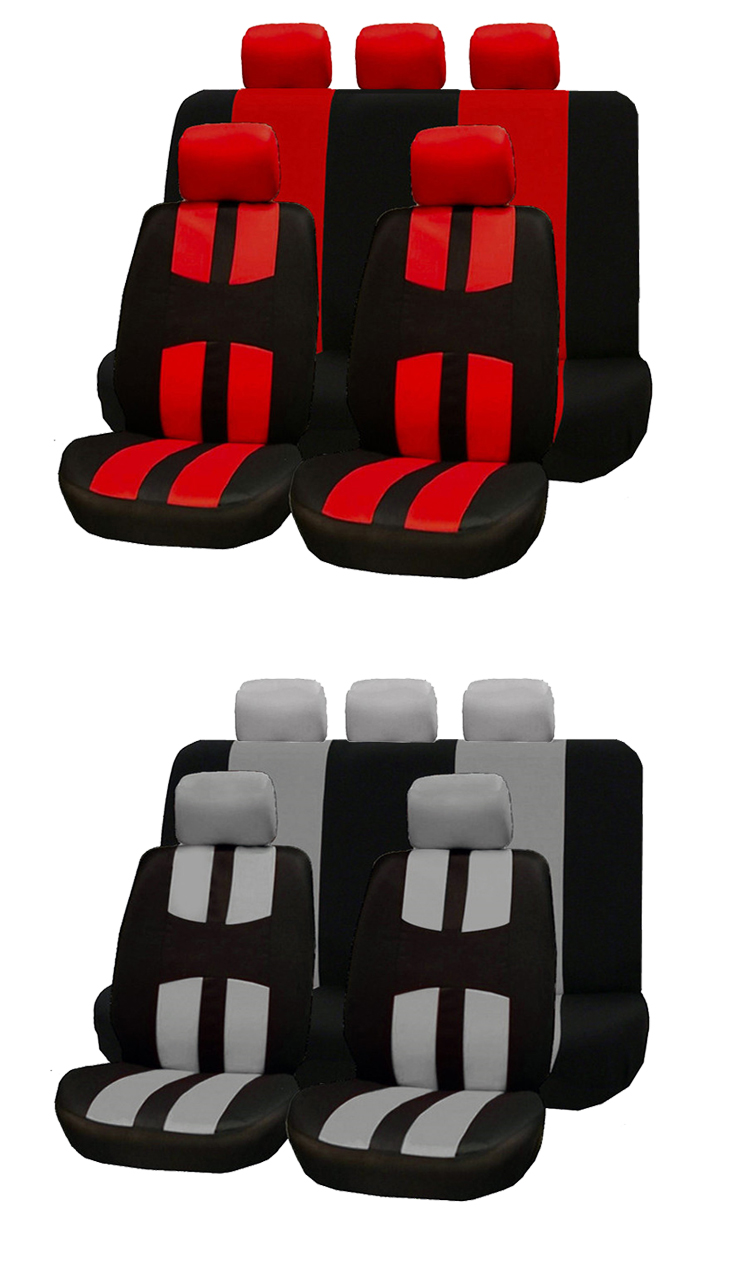 ZT-B-099 colorful fabric car seat covers universal cover