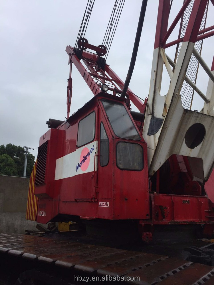 Cheap Price Second-hand Used Manitowoc 300 ton Crawler Crane 4000W for sale