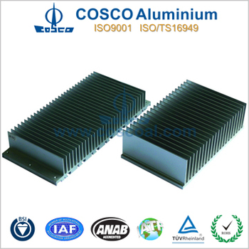 aluminum heat sink bar