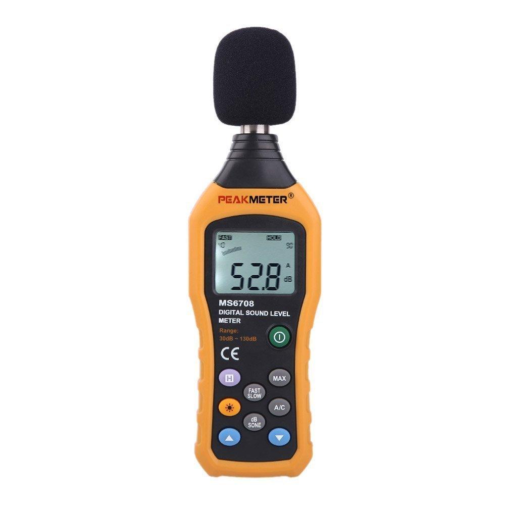 Sound Level Meter- HYELEC MS6708 Sound Level Meter sound decibel level digital meter Tester 30 -130dB