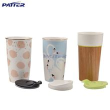 Factory custom various take away coffee cups mug ceramic