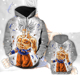 2019 Newest Hot Cartoon Dragon Ball Z Cartoon Hooded Hoodie Fashion Cosplay Print Anime Sweater Hooded Hoodie