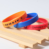 Cheap giveaway gift rubber wrist band soft silicone bands