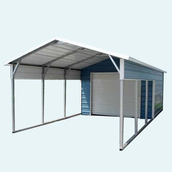 A Frame Vertical Style Carport And Portable Garage For Two Car Parking