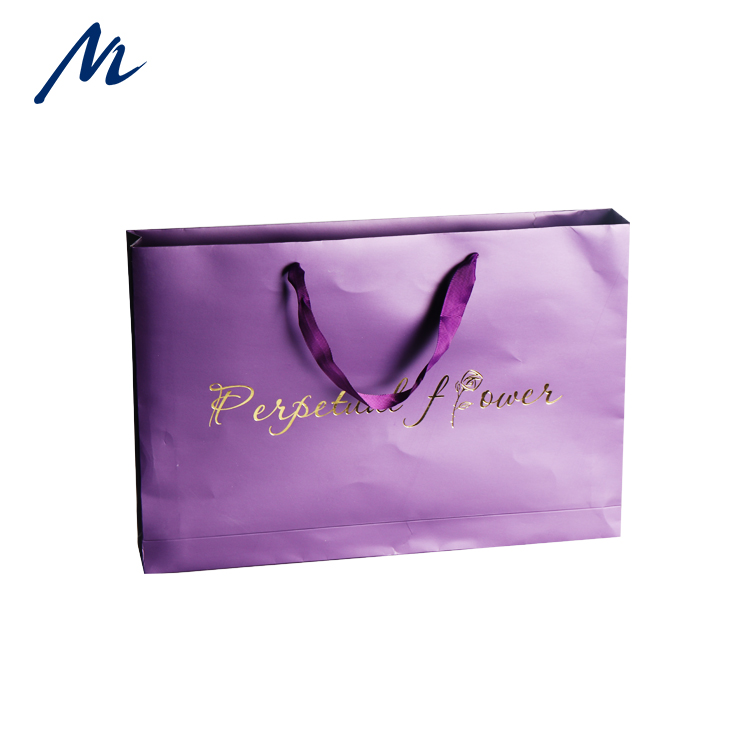 Luxury Printed Gift Custom Shopping Paper Bag With Your Own Logo