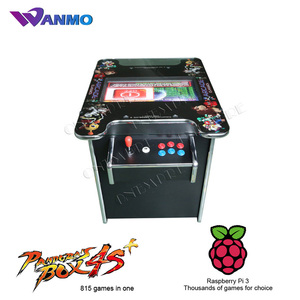 Horizontal Screen Version 1505 games in one multi games table, cocktail table arcade game machine with 2 player