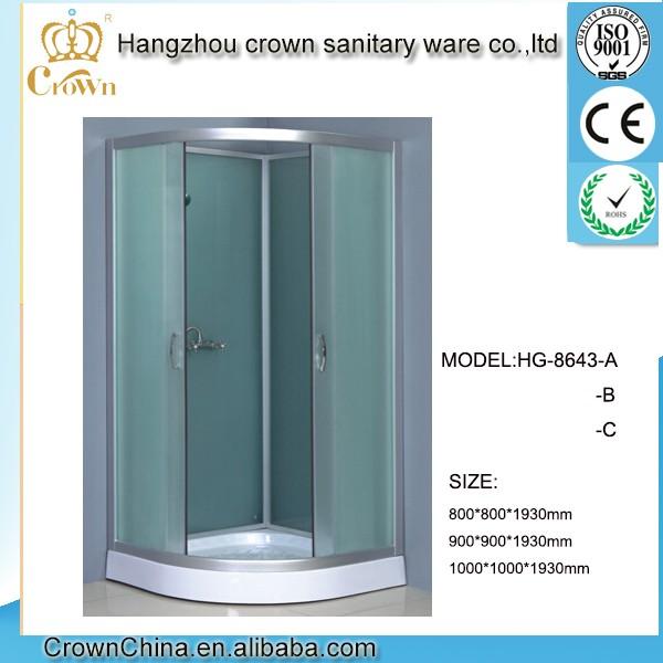 Hg-8643 Sector Corner Stall China Shower Room Mini Shower Enclosure ...