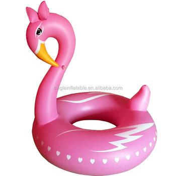 Newest Custom Korea Style PVC Pink Flamingo Pool Float Raft Floatie Toy  Inflatable Flamingo Adult Toys