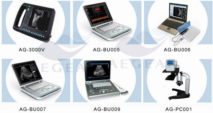 AG-BU005 popularity priced easy carrying hospital pc ultrasound scanner machine
