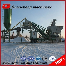 25m3 mobile concrete batching plant mini mobile concrete mixing plants