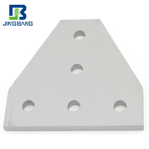 Hot sale 3d printer 5 hole T joining plate aluminium joining plates