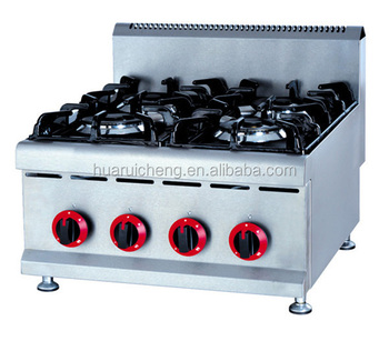 Heavy Duty Commercial Kitchen Table Top Gas Stove
