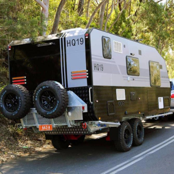 Travel Trailer Use And 7750 2365 3200mm Size Hybrid Offroad Caravan