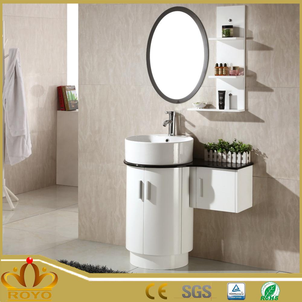 Mur en gros miroir cabinet salles de bains petit rond for Gros miroir rond