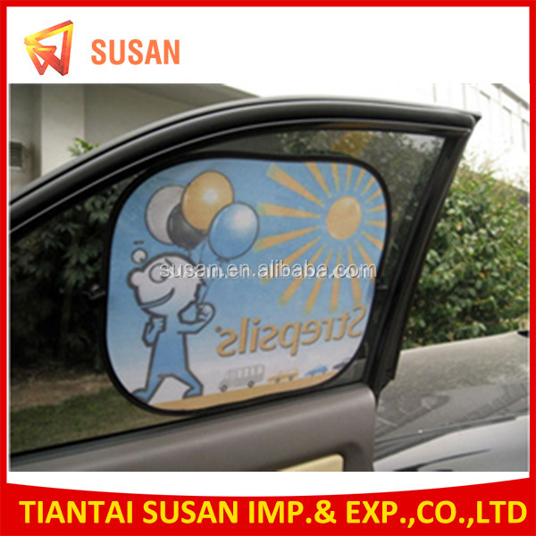 UV protection funny car side sunshade