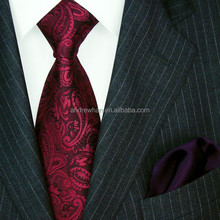 Handmade fashionable Classic Silk woven jacquard ties for men 1204501