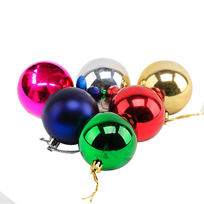 get quotations christmas decorations on tree plastic balls kerst xmas ornament christmas tree styrofoam balls navidad decoration products - Large Plastic Christmas Decorations