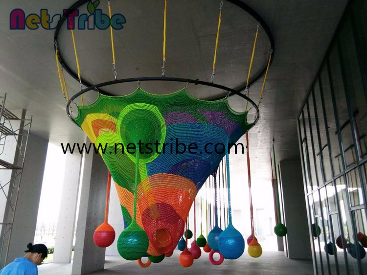 cheap children indoor playground swing ball