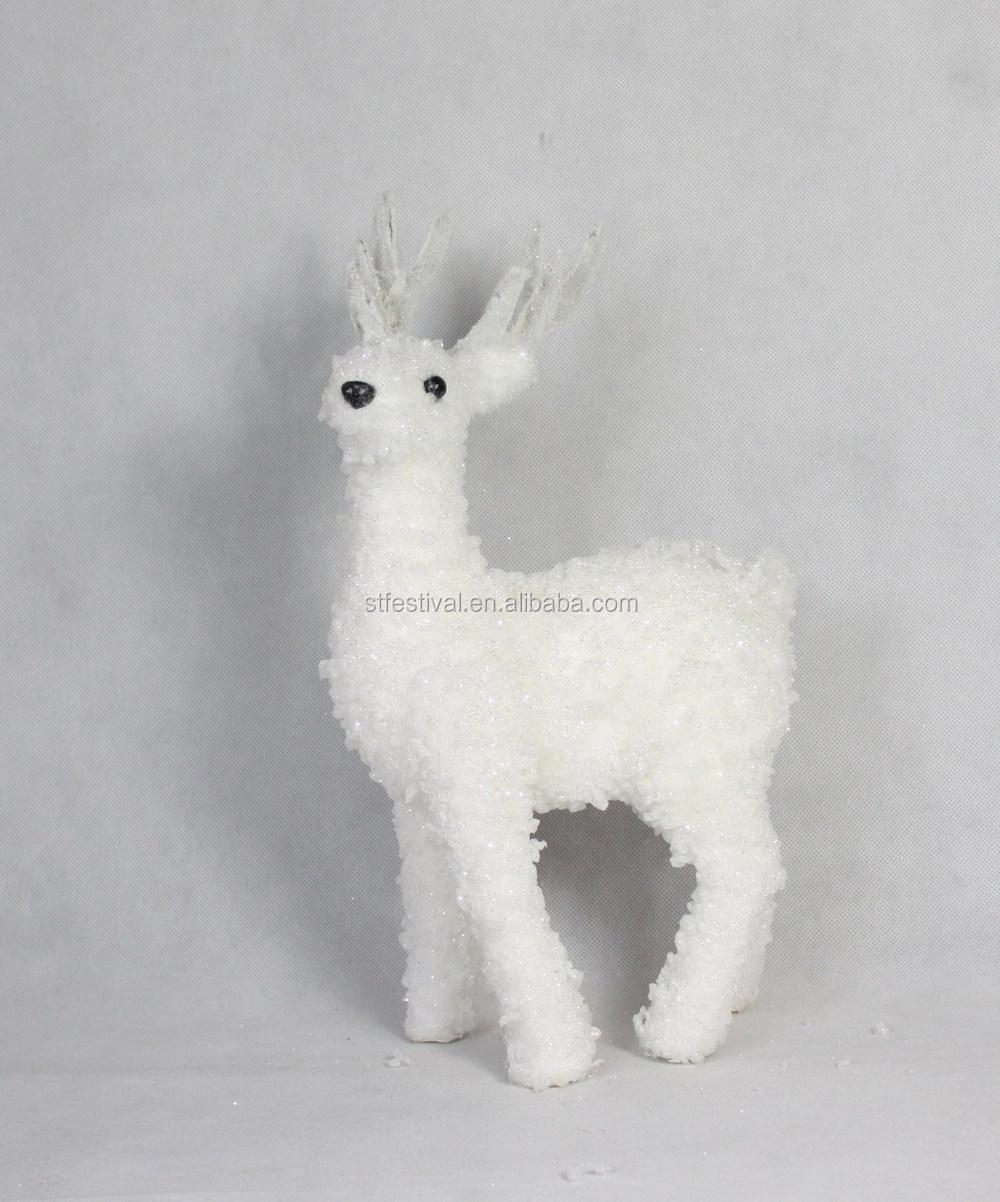 2015 Color Blanco Polietileno Reno Decoración De Navidad - Buy Reno ...