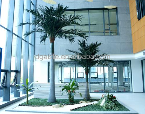 Latest design Factory process outdoor artificial palm tree coconut palm the coconut trees simulation palm coconut tree
