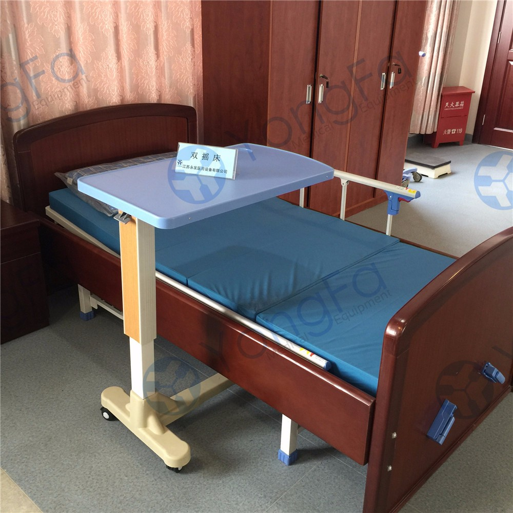 Hospital overbed table - Yft 001 Hospital Furniture Over Bed Table For Patient Dining