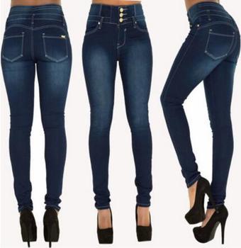 Z81635b Female Fashion Style Woman Jeans Pants Ladies Denim Jeans ...