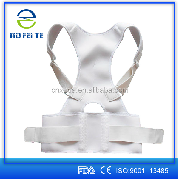 Magnetic Lumbar Traction Apparatus/ Cheap Waist Support Brace Strap/ Orthopedic Medical Belt AFT-B001