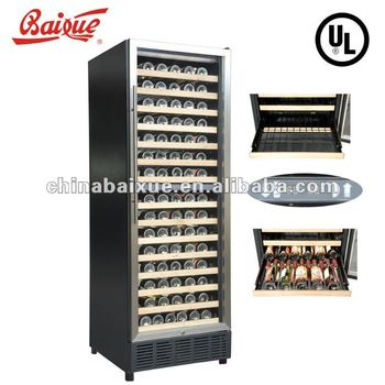 Dual Zone Wine Cooler Wr160 Cold Storage Refrigerator Deep