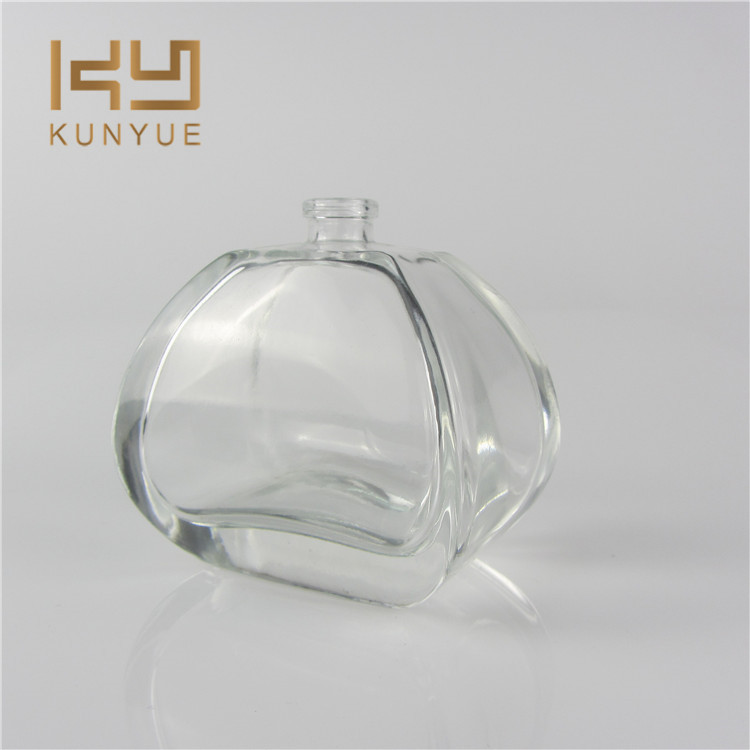 100 ml Luxe Frosted Clear Glas Navulbare Parfum Spray Fles