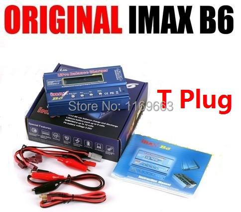 100% Original IMax B6 2s-6s 7.4v-22.2v Digital LCD Lipo NiMh Battery Balance Charger (Option 1)