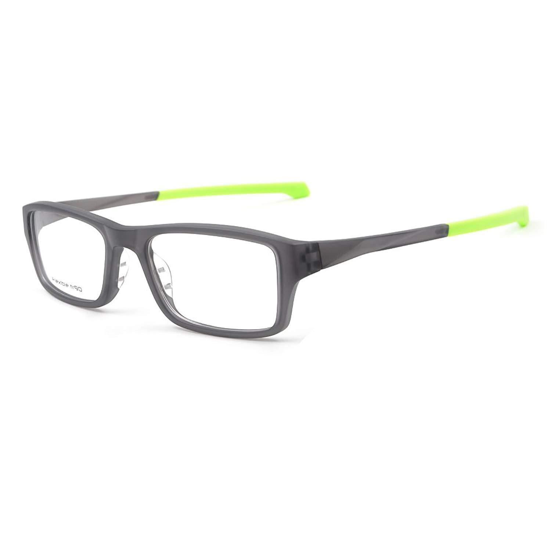 0deceea5f279 Get Quotations · Fashion Sporty Eyeglass Frames Optical Eyewear Frame  Glasses Flexible TR90