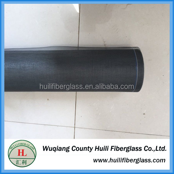White and black fiberglass window screen fiberglass fly screen for window and doors